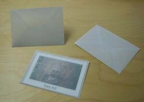 Transparente Umschläge / Briefhüllen