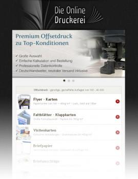 Die Online Druckerei Neuer Shop