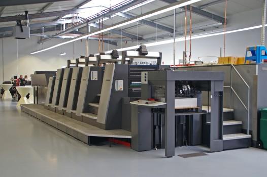 Online Druckerei mit Heidelberger Druckmaschine