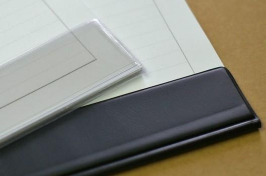 Schutzleisten für Schreibtischunterlagen