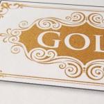 Golddruck im Detail