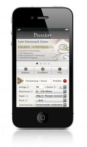 Smartphone Online Druckerei